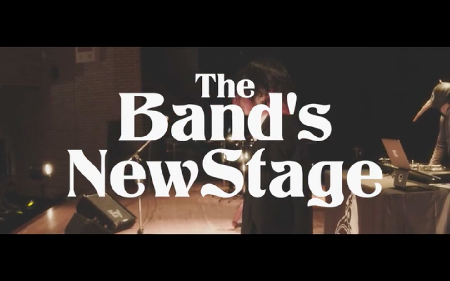 The Band's New Stage